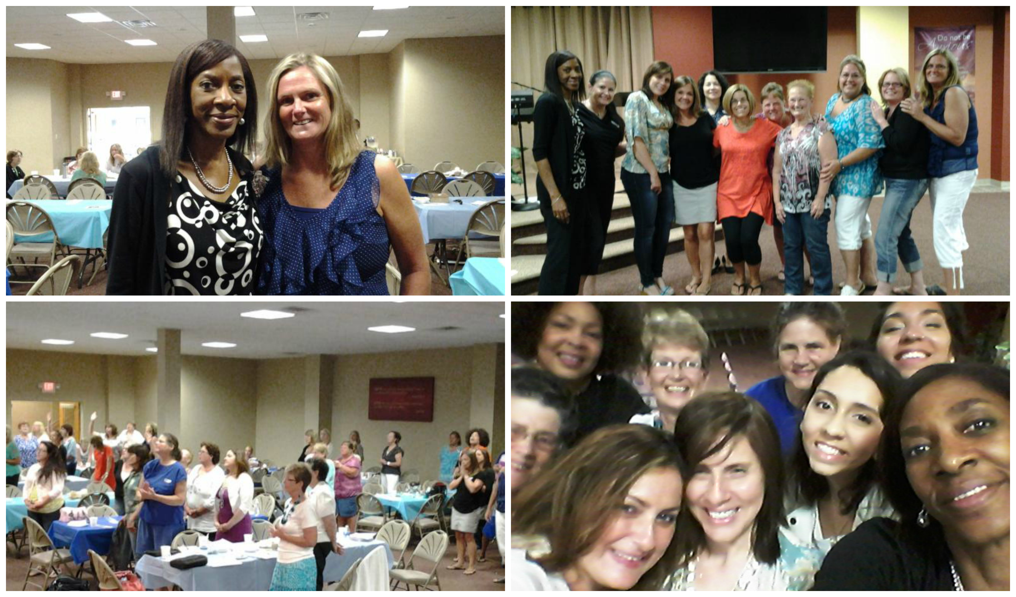 Women Responding to the Message Lighthouse Community Church Women Selfie