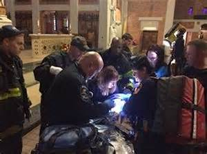 EMT, FDNY & NYPD Caring For The Abandoned New Born